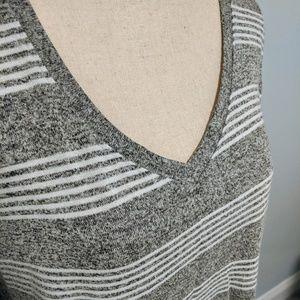 Market & Spruce   Striped Knit Top